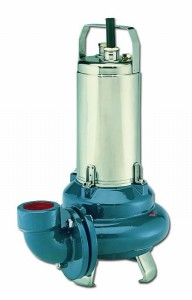 DL Submersible pumps with solids-laden wastewater