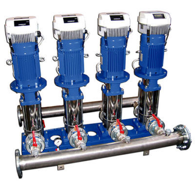 GHV Variable speed booster sets