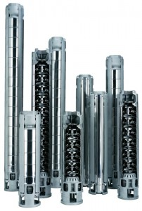 """Z6, ZN6 Submersible pumps for 6"""" wells"""